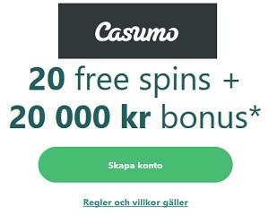 Casumo Casino Enarmade Banditer