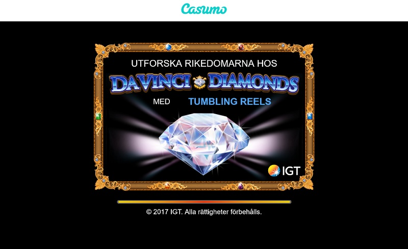 Da Vinci Diamonds hos Casumo